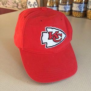 NFL team apparel adjustable KC Chiefs hat
